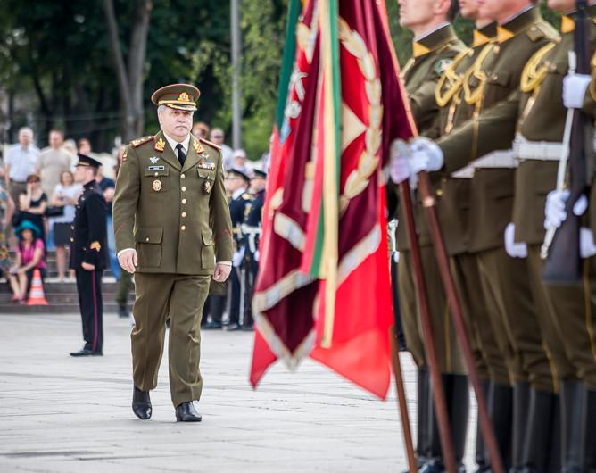 Lietuvos ginkluotųjų pajėgų vadas generolas majoras Jonas Vytautas Žukas | vrm.lt nuotr.