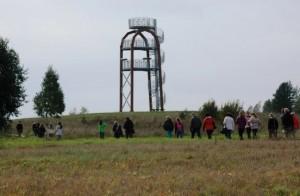 Pakeliui į apžvalgos bokštą | O.Drobelinės nuotr.