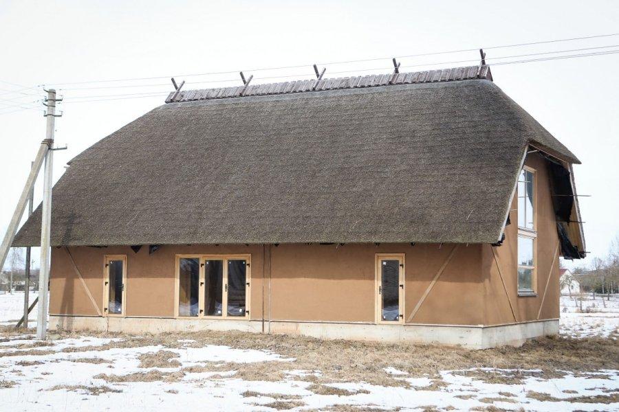 Statomas šiaudinis amatų centras Upytėje
