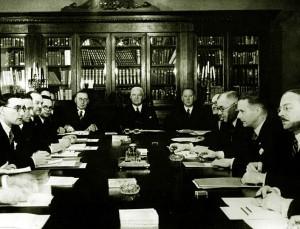 Baltijos užsienio reikalų ministrų konferencija Taline 1937 m. | wikipedia.org nuotr.