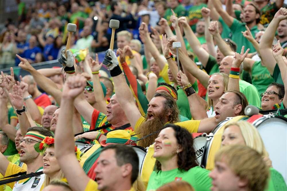Lietuva, Lietuva, Lietuva !!! | FIBA nuotr.