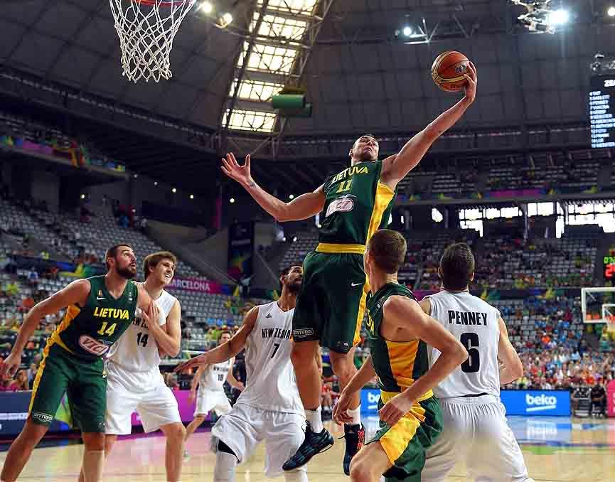 Lietuva – Naujoji Zelandija | FIBA nuotr.