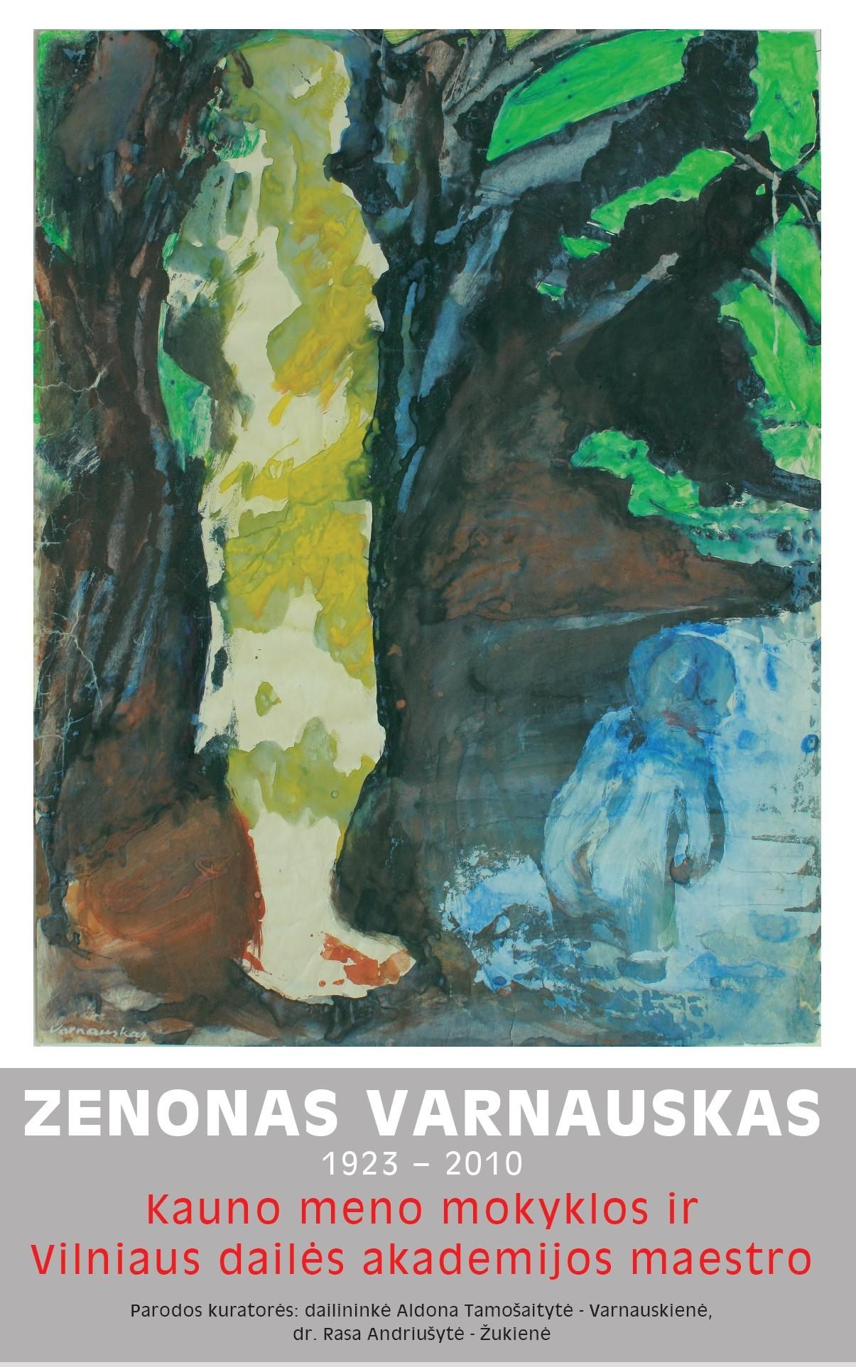 parodos plakatas Z Varnauskas