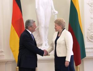 Prezidentė pasveikino Vokietiją nacionalinės šventės proga  |  lrp.lt, Dž. G. Barysaitės nuotr.