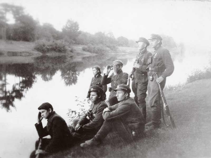 Algimanto apygardos partizanai prie Sventosios