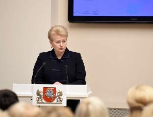 Prezidentė Dalia Grybauskaitė | lrp.lt, R. Dačkaus nuotr.