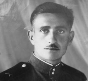 Būsimasis paminklosaugininkas Jonas Nemanis tarybinėje armijoje 1953 m. | asmeninė nuotr.