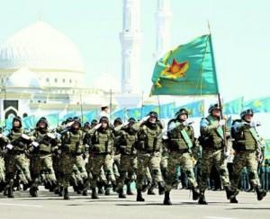 Ar ateis diena, kai Kazachstano kariams teks stoti į kovą už tėvynės nepriklausomybę? | scanpix.ee nuotr.