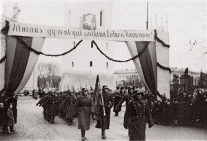 Lietuvos kariuomenės paradas Vilniuje 1939 m. spalio 29 d. | lnm.lt, J. Miežlaiškio nuot