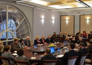 Spalio 16 d. Švietimo ir mokslo ministras prof. Dainius Pavalkis susitiko su mokyklų rusų mokomąja kalba vadovais