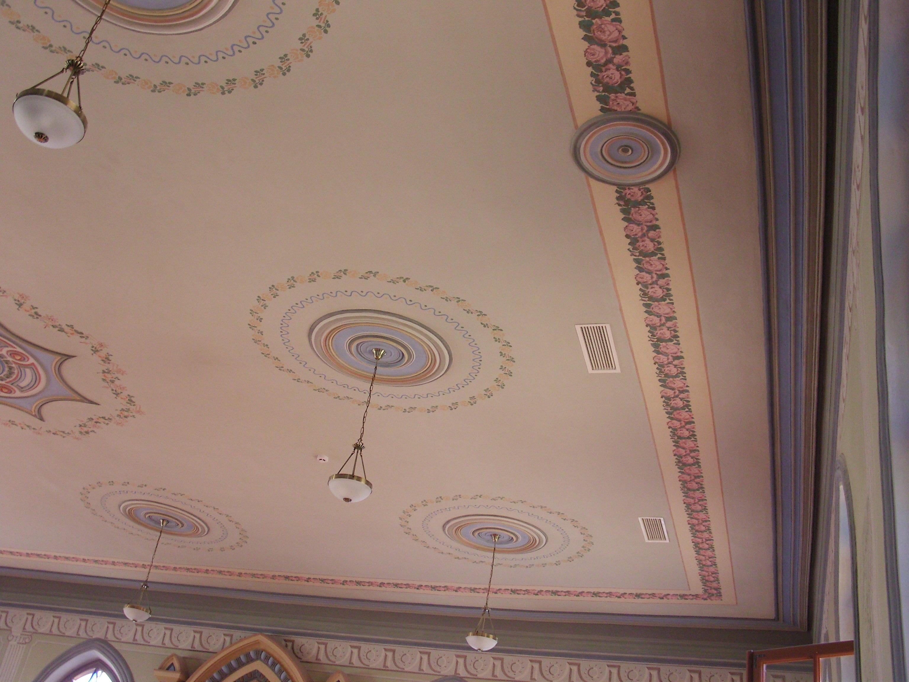 Restauruotas lubų dekoras   KPD Šiaulių teritorinio padalinio nuotr.