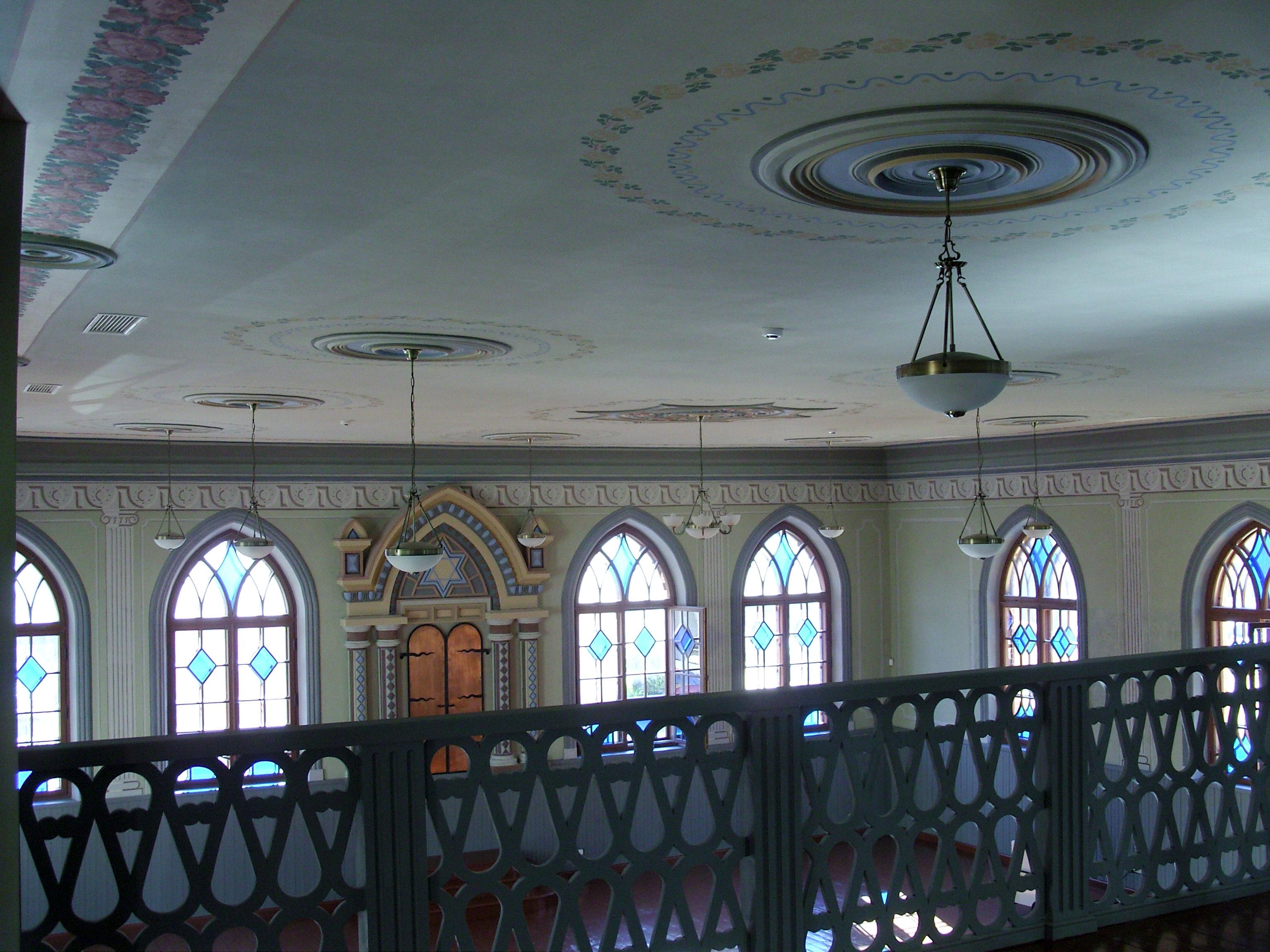 Restauruotas sienų ir lubų dekoras   KPD Šiaulių teritorinio padalinio nuotr.