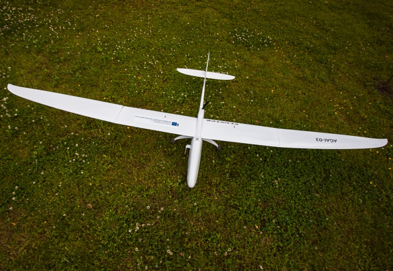 VGTU aviatorių sukurtas bepilotis orlaivis | vgtu.lt nuotr.