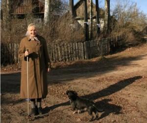 Zervynų kaimo dainininkė Birutė Tamulevičienė   O.Drobelienės nuotr.