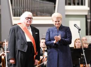 Juozas Domarkasir Dalia Grybauskaitė | lrp.lt, R.Dačkaus  nuotr.