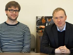 Vilius Okockis ir dr. Linas Bukauskas. | V. Jadzgevičiaus nuotr.