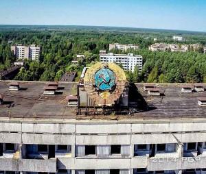 Černobylio elektrinės apylinkių vaizdai |robohub.org nuotr.
