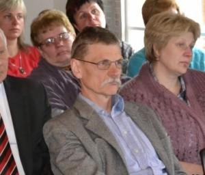 M.Šidlauskas (centre). Plungės sav. nuotr.