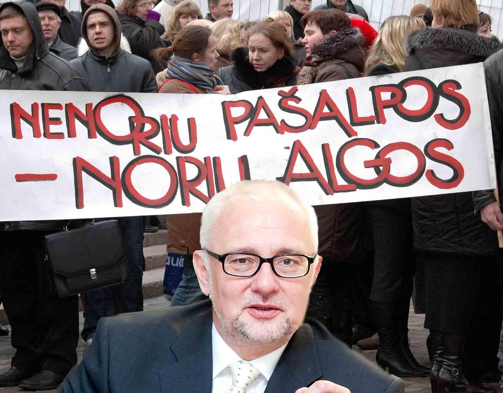 Švietimo ministras D. Pavalkis sako, kad mokytojų rengiamas streikas yra neteisėtas | Alkas.lt asociatyvi nuotrauka