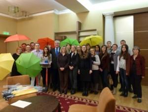 Lietuvoje studijuojantys užsienio lietuviai apsilankė Švietimo ir mokslo ministerijoje | smm.lt nuotr.