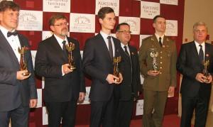 2014 metu apdovanojimai. Auksinis Feniksas laimetojai.