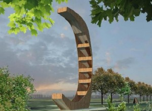 Apžvalgos bokšto vizualizacija