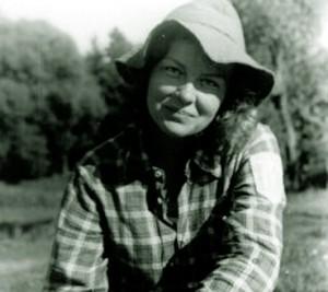 Ida Stankevičiūtė 1979 m. rugsėjį plaukiant Žeimenos upe | satenai.lt nuotr.