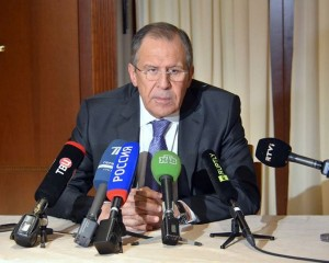 Sergejus Lavrovas | Rusijos URM nuotr.