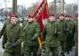 Krašto apsaugos savanorių pajėgos mini 24-ąsias įkūrimo metines | kam.lt, A. Pliadžio nuotr.