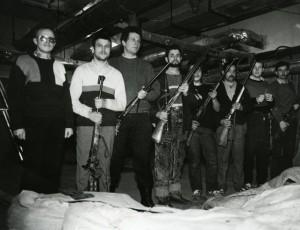 Laisvės gynėjai Lietuvos Seime. Vilnius, 1991 m. sausis | lrs.lt, V. Daraškevičius nuotr.