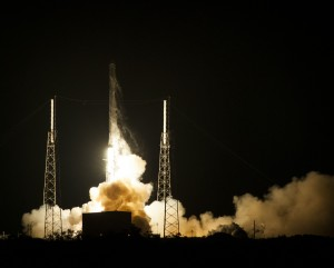 SpaceX CRS-5 startas | spacex.com nuotr.