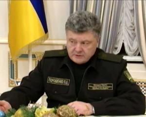 Petro Porošenko | stop kadras