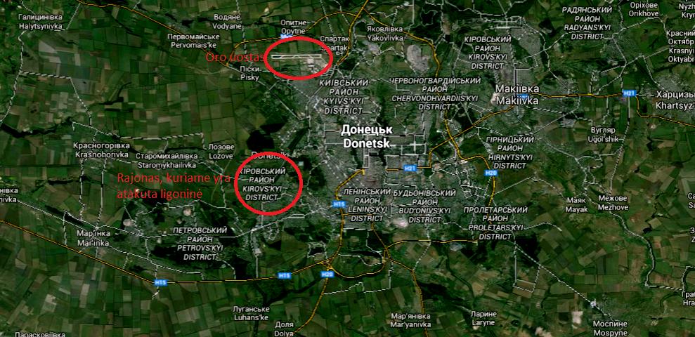 Donecko miestas | Alkas.lt pav.