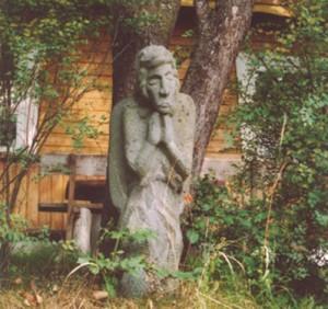 J.Siksnelio skulptura_biblioteka.lt