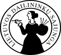 LDS dailininku sajunga logotipas