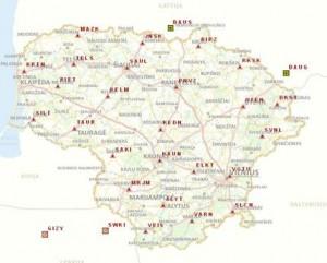 Lietuvos Respublikos GPS nuolatiniu stociu tinklas