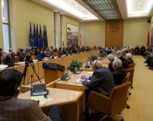 Seime paminėtas Valstybinės kalbos įstatymo dvidešimtmetis | Alkas.lt, J. Vaiškūno nuotr.