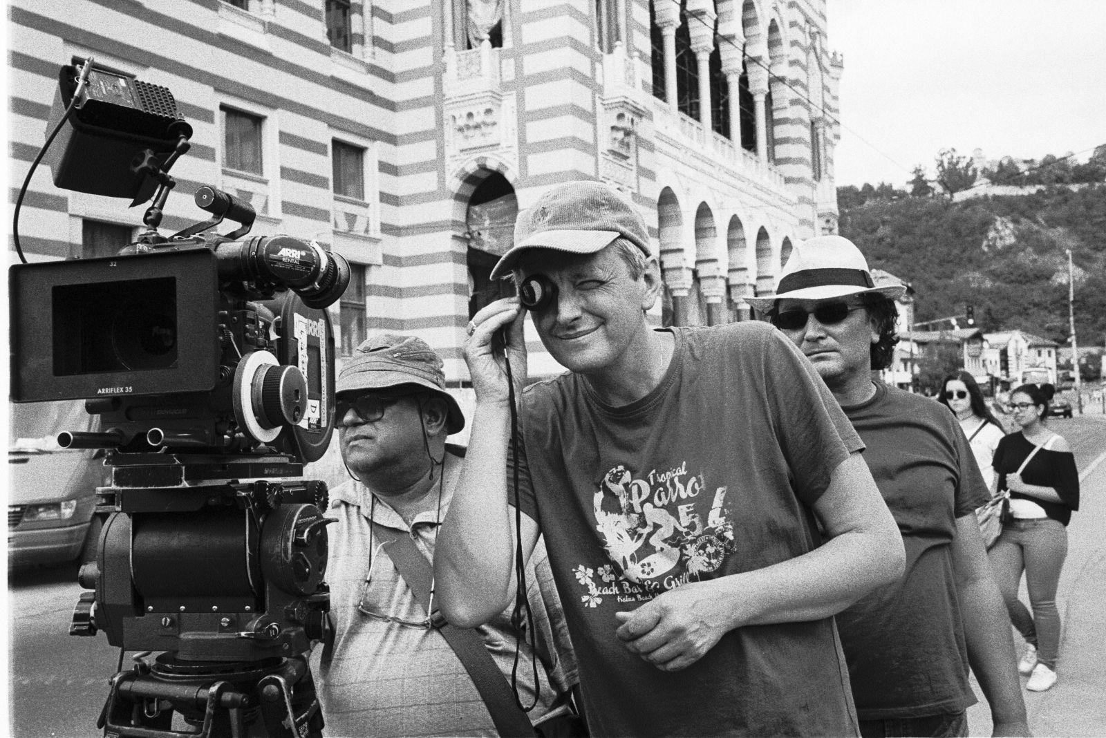 Sergejus Loznica filmavimo aikštelėje