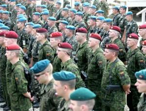 Lietuvos, Lenkijos ir Ukrainos kariai dalyvauja bendroje oepracijoje Kosove | KAM archyvo nuotr.