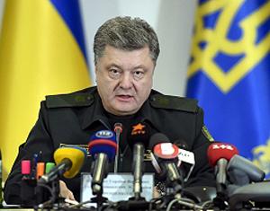 Ukrainos prezidentas Petro Porošenko | president.gov.ua nuotr.
