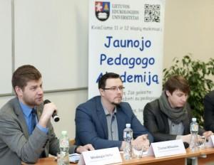 Diskusijos dalyviai: M. Nefas, Ž. Miliauskas, D. Kriukas, S. Ignatavičius | organizatorių nuotr.