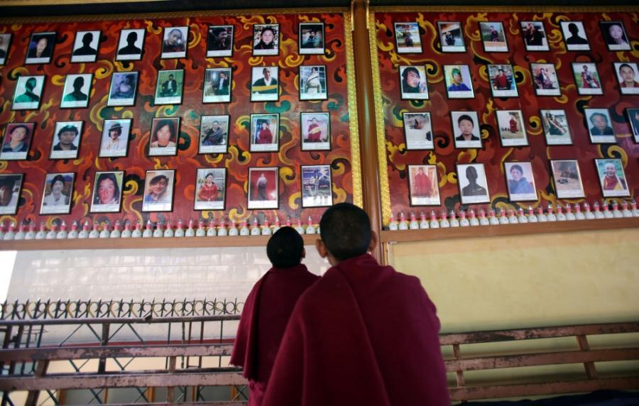 Tibetas. Vienuolis | EPA nuotr.