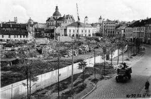 Vilniaus senamiestis 1956 -nuotraukos.vilnius21.lt-nuotr