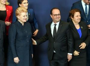 Prezidentė dalyvauja Europos Vadovų Tarybos posėdyje | LR Prezidento kanceliarija, R. Dačkaus nuotr.