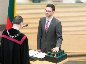 Šarūnas Gustainis | lrs.lt, O. Posaškovos nuotr.
