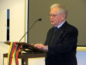 Prof. Romualdas Grigas | rengėjų nuotr.