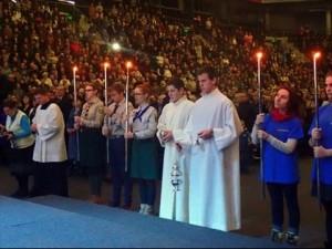 Šeimų šventė Šiaulių arenoje