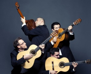 Baltijos gitaru kvartetas.rengeju foto