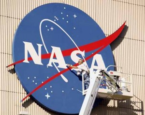 NASA nuotr. NASA logotipas
