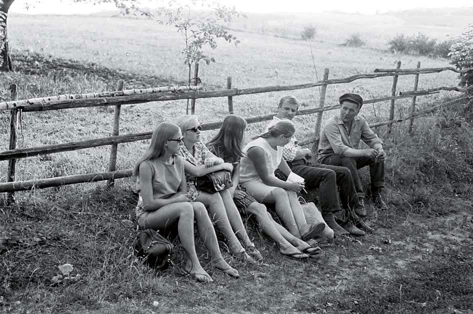 Ramuvos ekspedicija Dūkštų apylinkėse, 1970 m. | R. Ozolo nuotr.